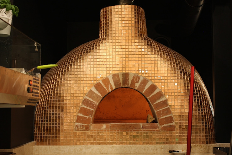 Miedziany piec do pizzy od Zig Zag Industrialny
