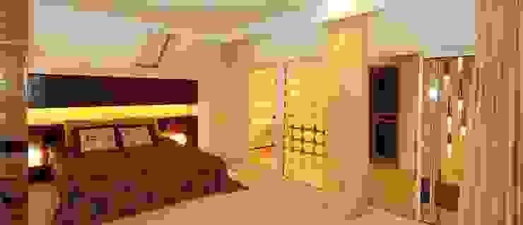 Дом в пригороде Черкасс Спальня в стиле минимализм от дизайн-студия Олеси Середы Минимализм