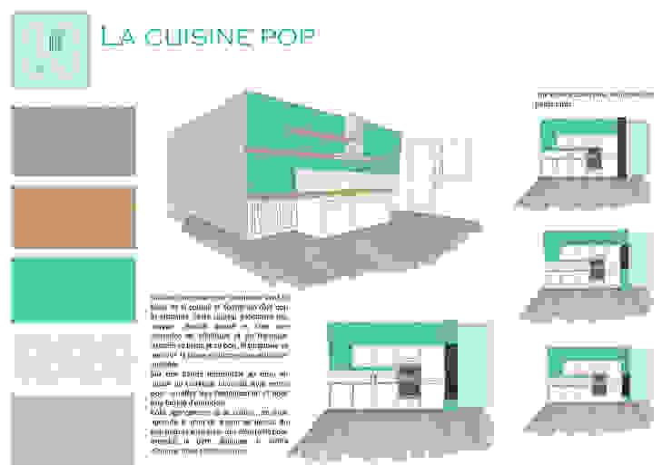 Cucina moderna di Mint Design Moderno Ceramica