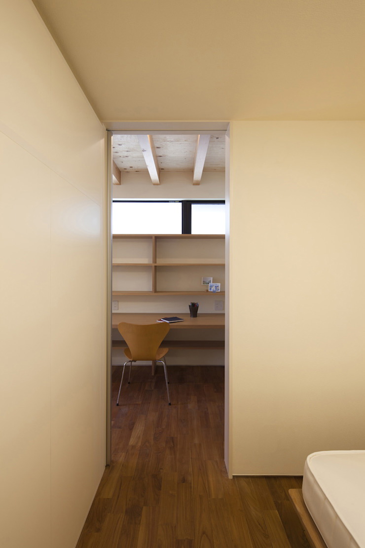 Eclectic style nursery/kids room by U建築設計室 Eclectic