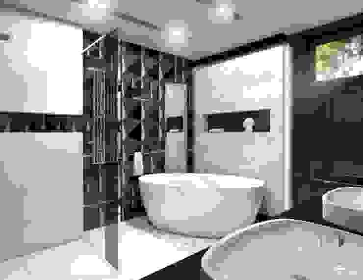 Łazienka Glamour Nowoczesna łazienka od Architekt wnętrz Klaudia Pniak Nowoczesny