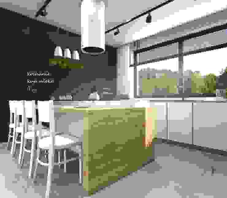 Kuchnia Nowoczesna kuchnia od Architekt wnętrz Klaudia Pniak Nowoczesny