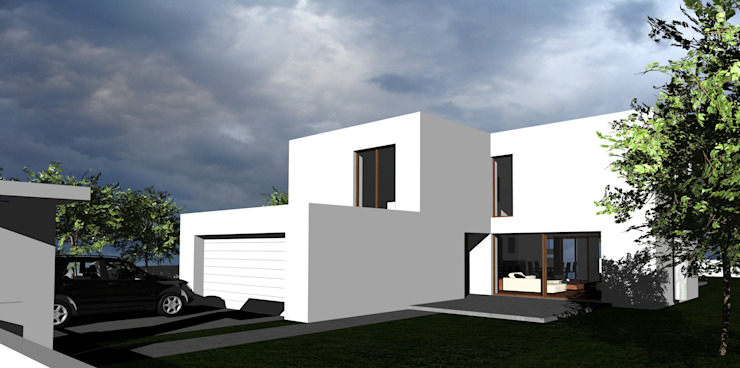 Cyryl House od ŁUKASZ ŁADZIŃSKI ARCHITEKT Nowoczesny