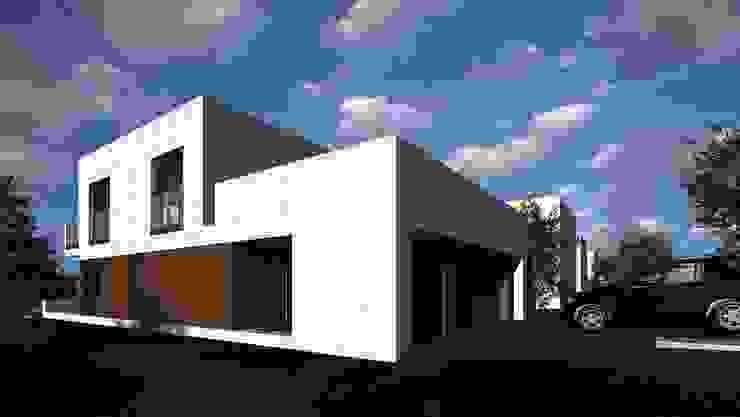 Katowice Dom Modernistyczny od ŁUKASZ ŁADZIŃSKI ARCHITEKT