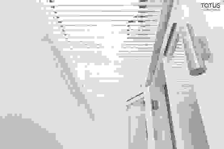 Basement with Light well, Clapham SW11 Modern windows & doors by TOTUS Modern