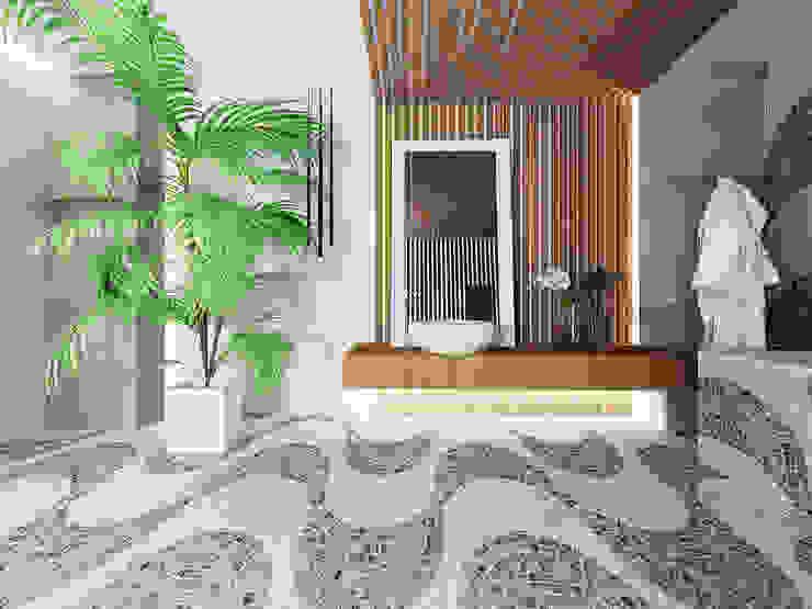Ванная комната в стиле минимализм от homify Минимализм Дерево Эффект древесины