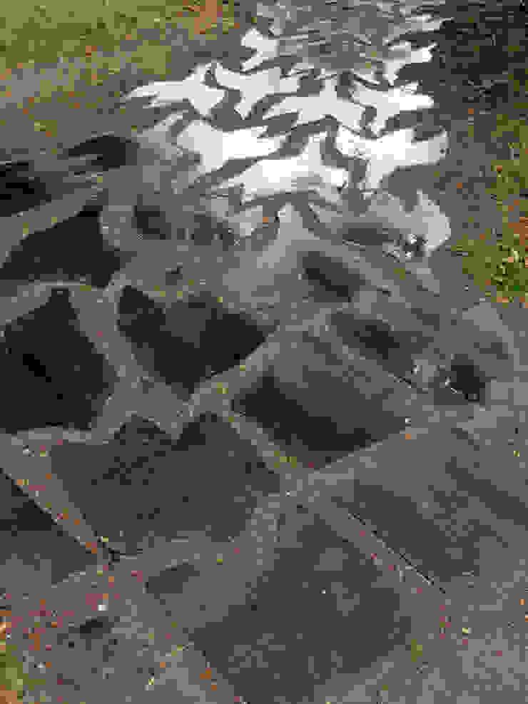 Artiste Sculpteur Modern garden Iron/Steel Metallic/Silver