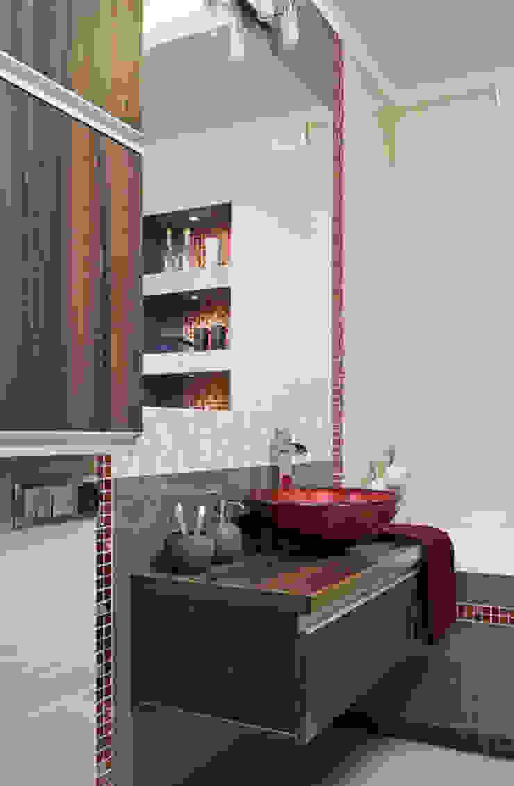 Casas de banho modernas por ARTEMA PRACOWANIA ARCHITEKTURY WNĘTRZ Moderno