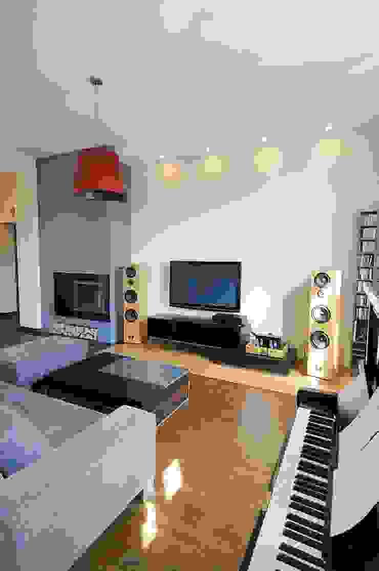 ARTEMA PRACOWANIA ARCHITEKTURY WNĘTRZ Modern Living Room