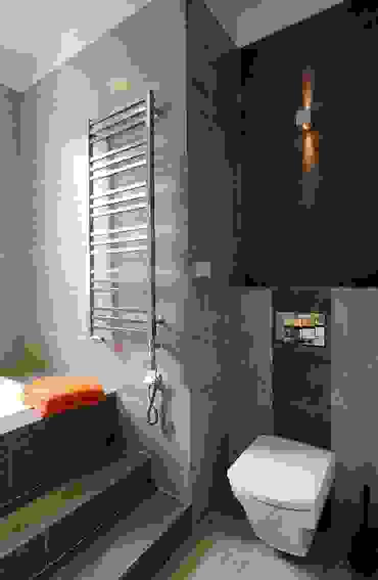 Apartament w sercu Krakowa Nowoczesna łazienka od ARTEMA PRACOWANIA ARCHITEKTURY WNĘTRZ Nowoczesny