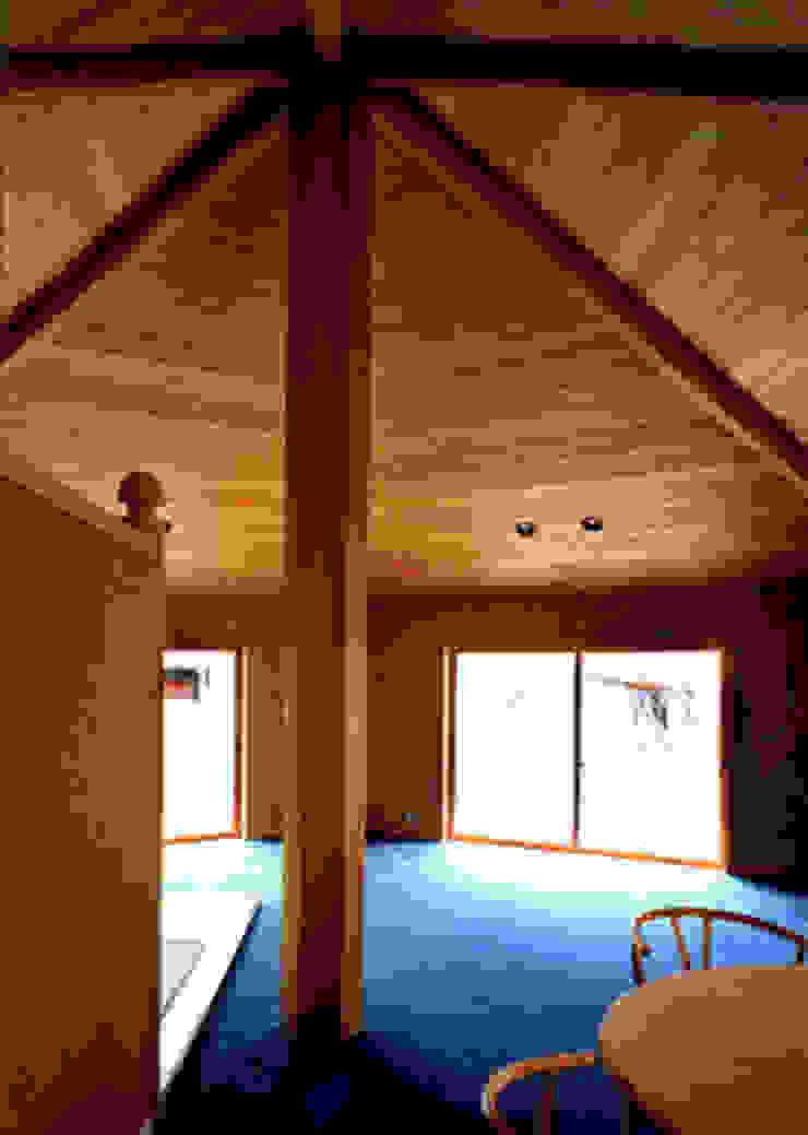 サロン オリジナルデザインの リビング の 松井建築研究所 オリジナル