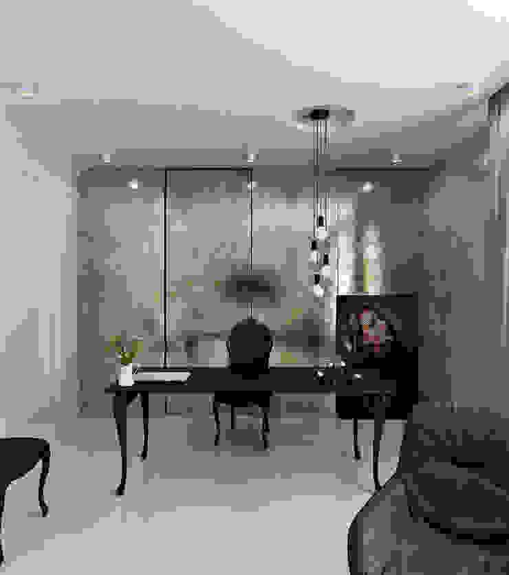 Home office 21.3 Рабочий кабинет в эклектичном стиле от Студия Антона Сухарева 'SUKHAREVDESIGN' Эклектичный