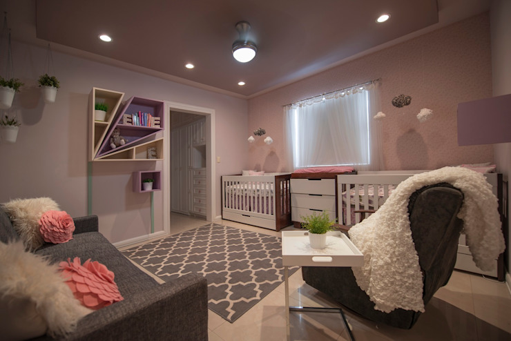 Recámara bebé Dormitorios infantiles modernos de ESTUDIO TANGUMA Moderno