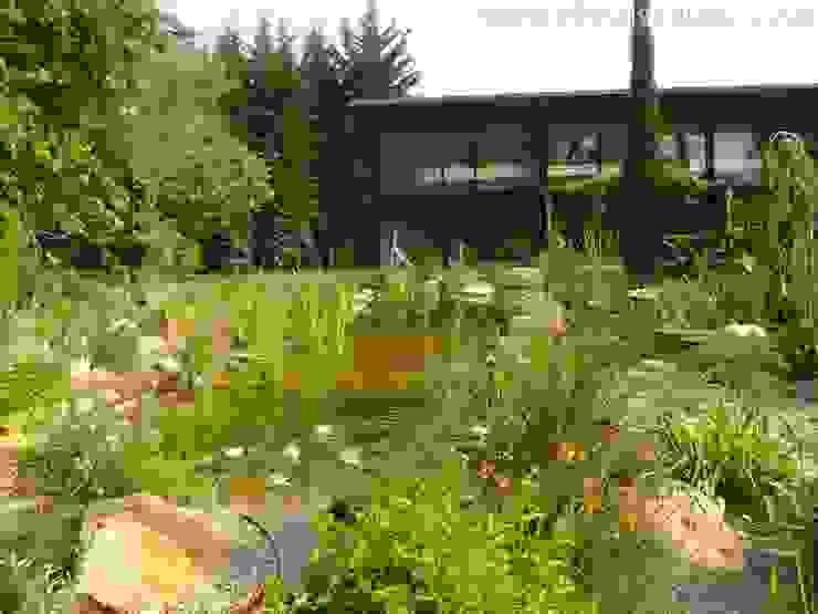 Nowoczesny ogród od abpaisajismo Nowoczesny