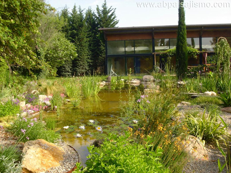 Jardines modernos de abpaisajismo Moderno
