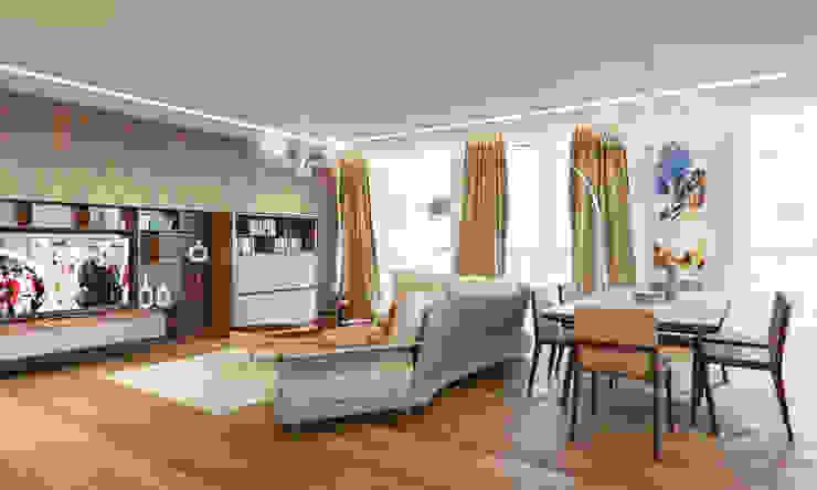 Modern living room by Insight Vision GmbH Modern