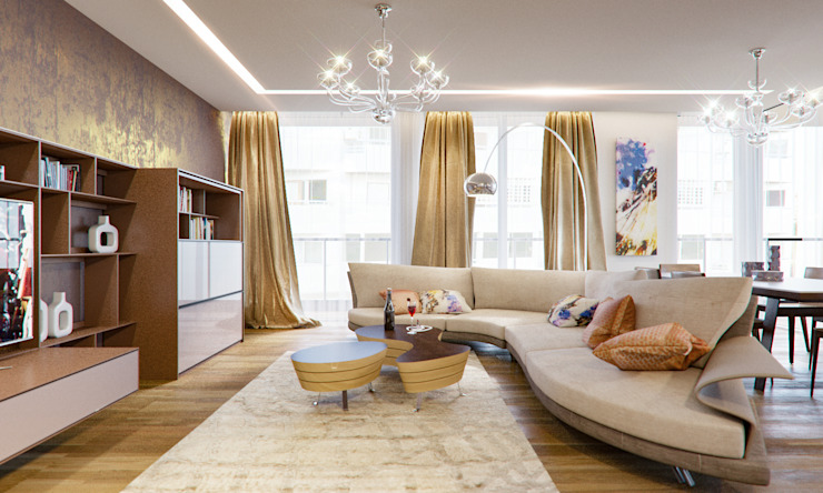 Insight Vision GmbH Modern living room