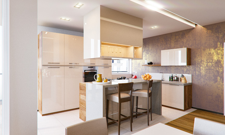Insight Vision GmbH Modern kitchen