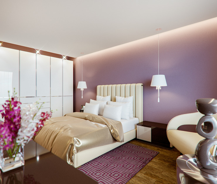 Insight Vision GmbH Modern style bedroom