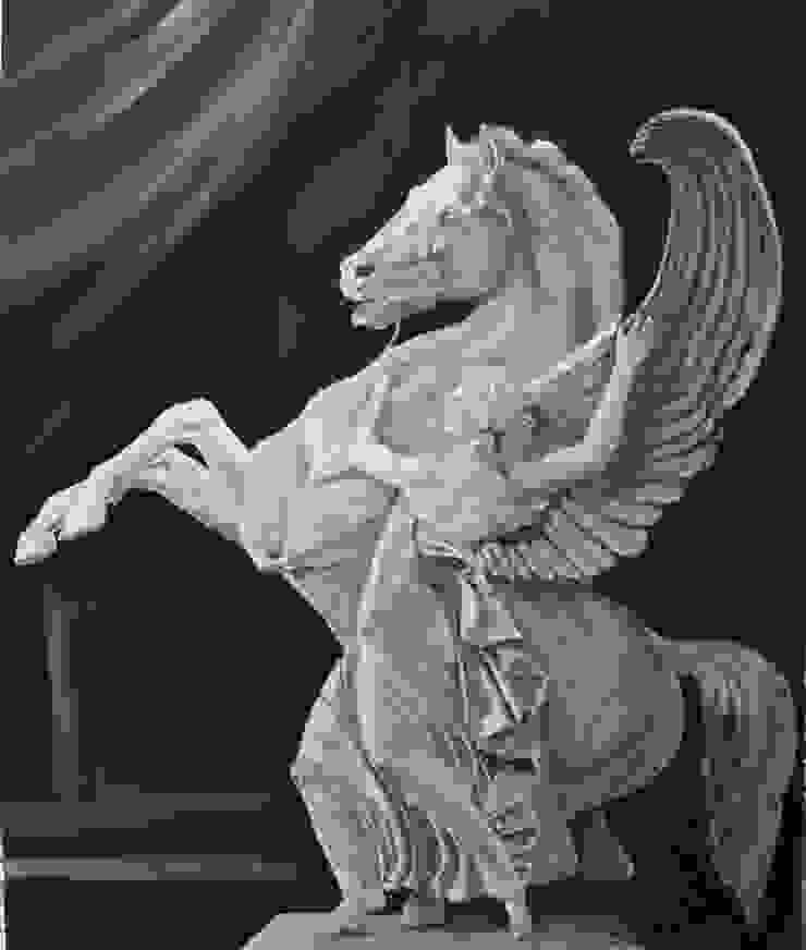 Pegasus van www.paardenschilderijen.com Klassiek