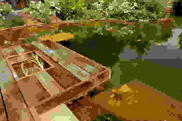 Zwemvijver Weert Moderne tuinen van Tuindesign & Styling Ves Reynders Modern