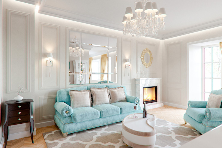 Classic style living room by Insight Vision GmbH Classic