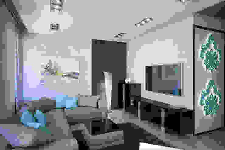 Insight Vision GmbH ห้องนั่งเล่น Turquoise