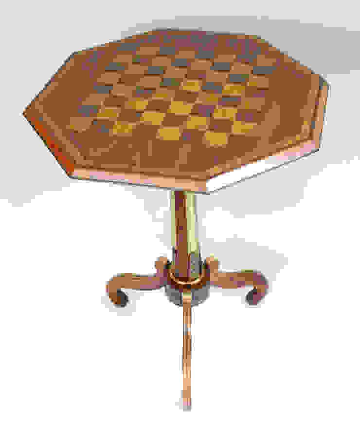 Oude schaaktafel van Smeerling Antiek & Restauratie Klassiek Hout Hout