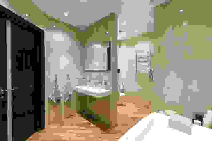 Из Москвы в Санкт-Петербург , 2012 год реализации. Ванная комната в стиле модерн от Дизайн-бюро'Гармония' Модерн