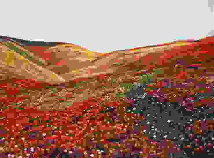 Bloemenweide van www.paardenschilderijen.com Klassiek