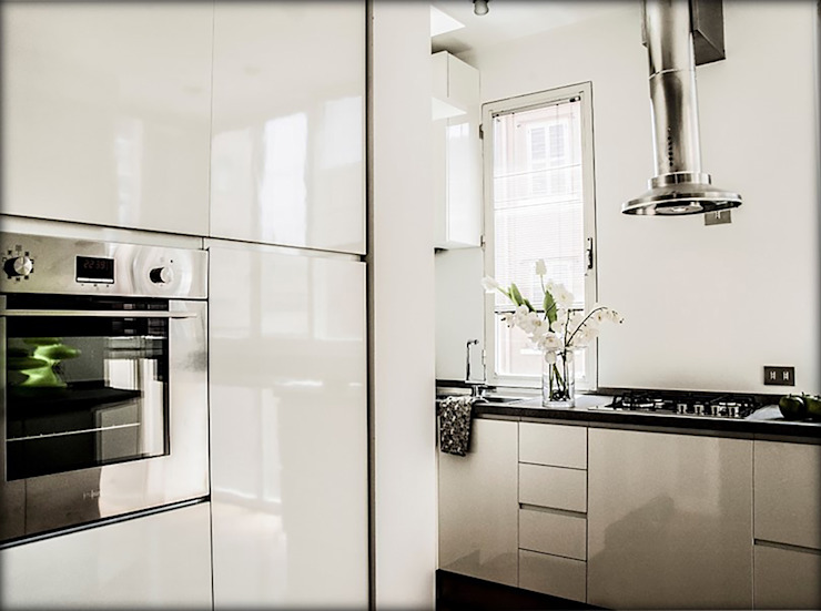 My Home Attitude - Barbara Sala Kitchen MDF White