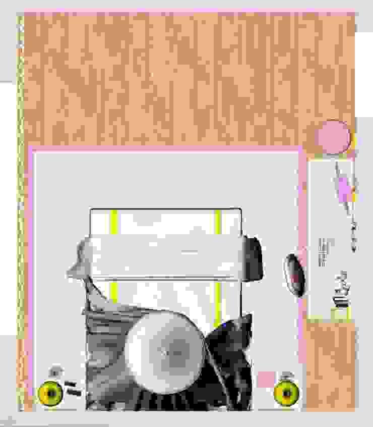 Quarto da Vitória Quartos de criança modernos por Ângela Pinheiro Home Design Moderno