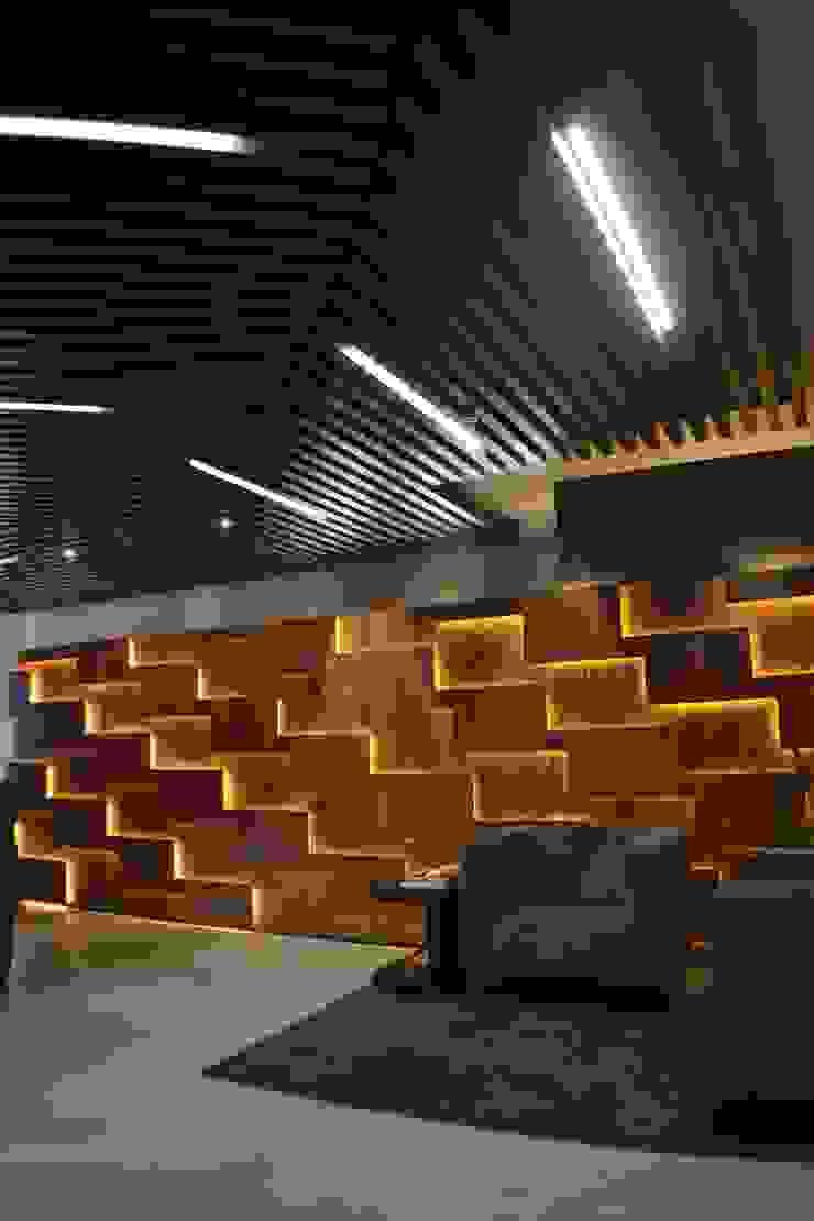 Vestíbulo de Maka Arquitectura Ecléctico