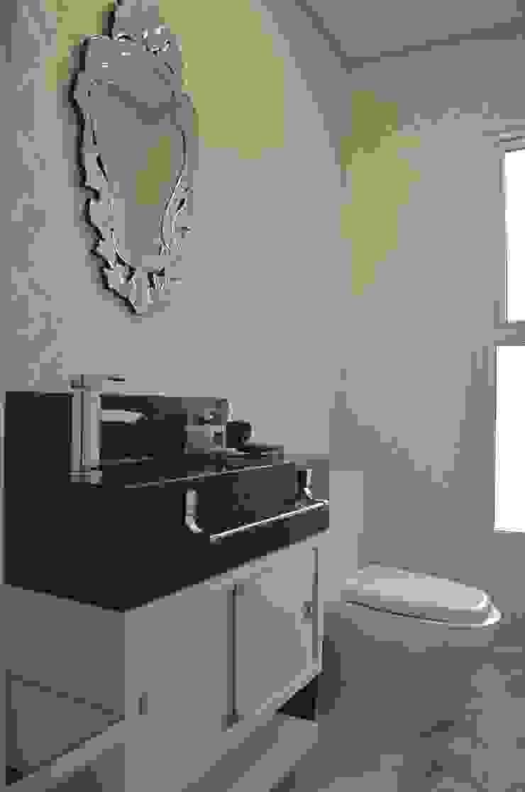 Lavabo luxo Banheiros ecléticos por Ésse Arquitetura e Interiores Eclético