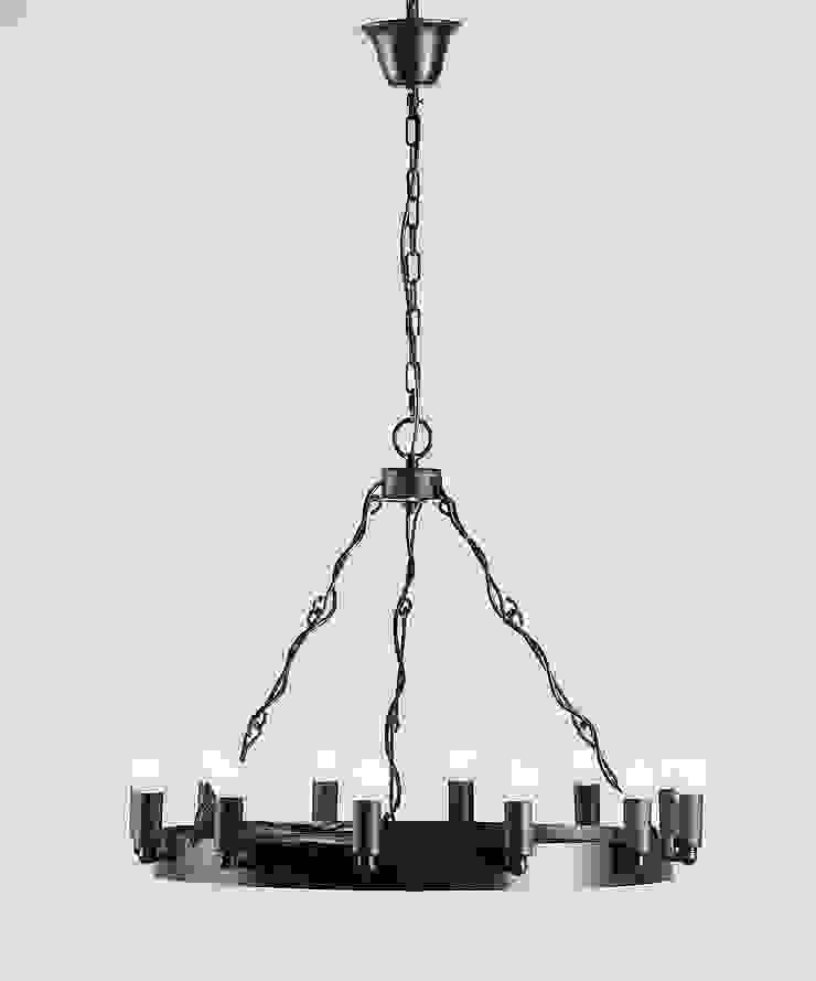 CROWN 1 – METALOWA LAMPA WISZĄCA od Altavola Design Sp. z o.o. Nowoczesny Matal