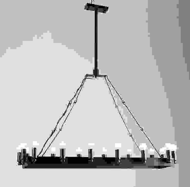 CROWN NO. 2 – METALOWA LAMPA WISZĄCA od Altavola Design Sp. z o.o. Nowoczesny Matal