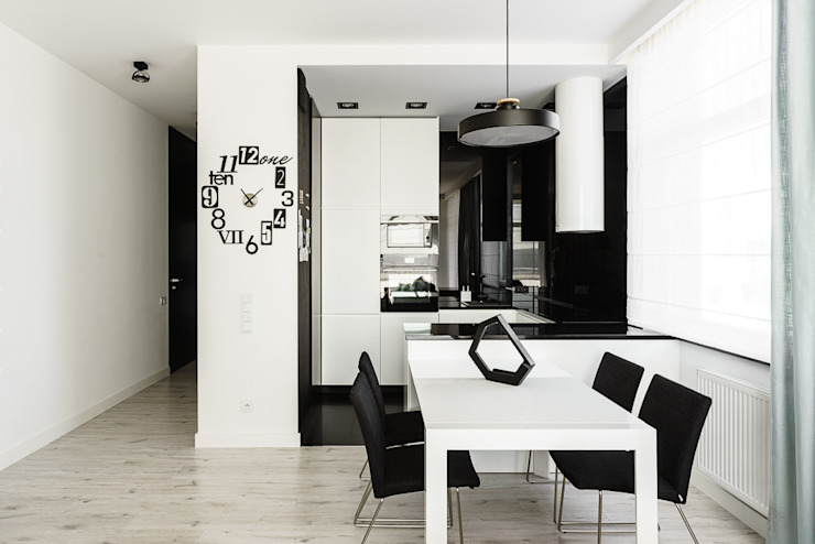 Salle à manger moderne par Anna Maria Sokołowska Architektura Wnętrz Moderne