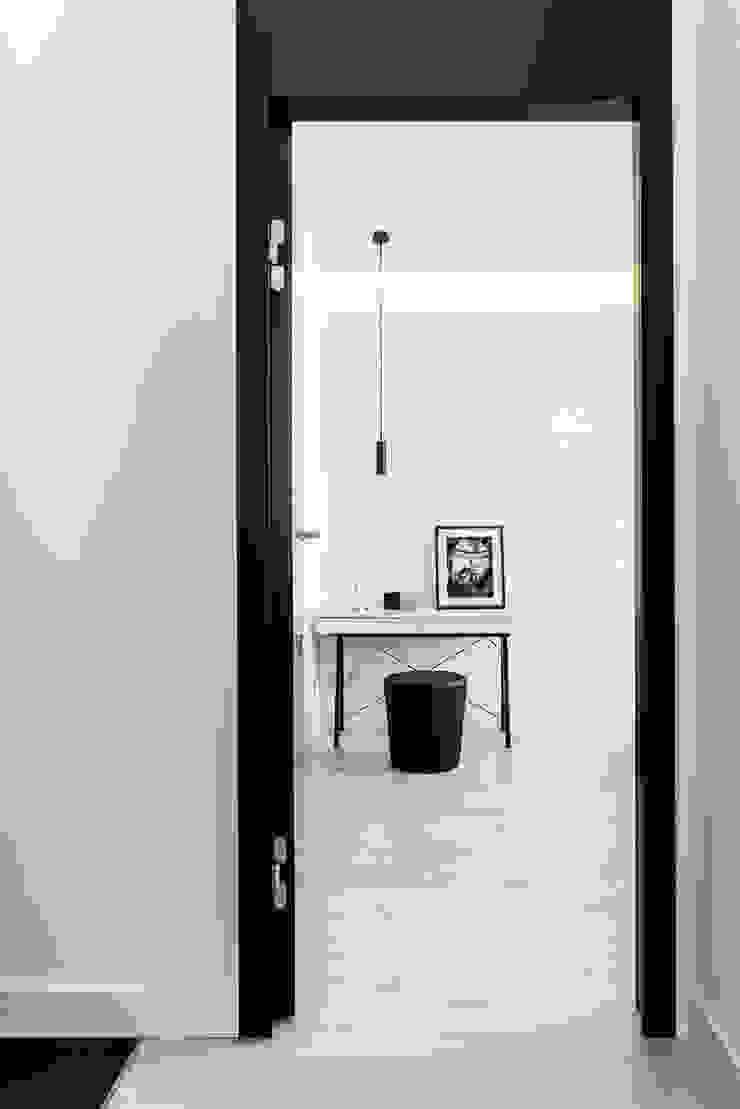 Chambre moderne par Anna Maria Sokołowska Architektura Wnętrz Moderne