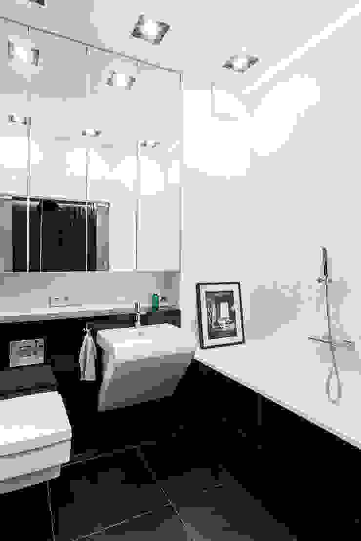 Salle de bain moderne par Anna Maria Sokołowska Architektura Wnętrz Moderne