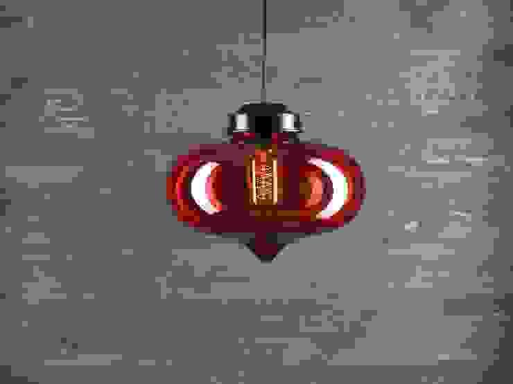 LONDON LOFT NO. 1R – LAMPA WISZĄCA od Altavola Design Sp. z o.o. Nowoczesny Szkło