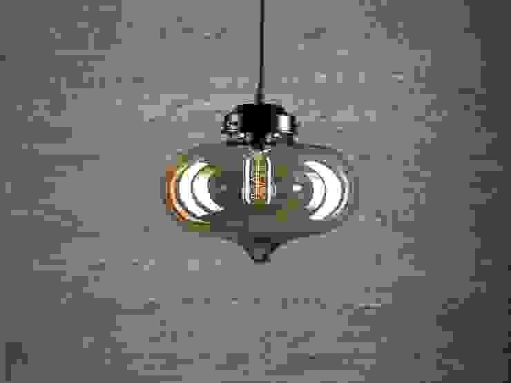 LONDON LOFT NO. 1B-LAMPA WISZĄCA VINTAGE od Altavola Design Sp. z o.o. Nowoczesny Szkło