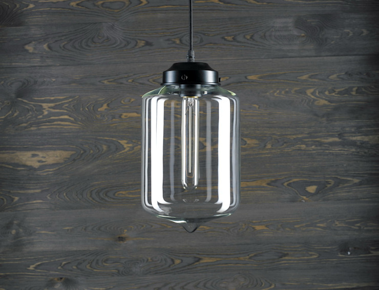 LONDON LOFT NO. 2-LAMPA WISZĄCA od Altavola Design Sp. z o.o. Nowoczesny Szkło