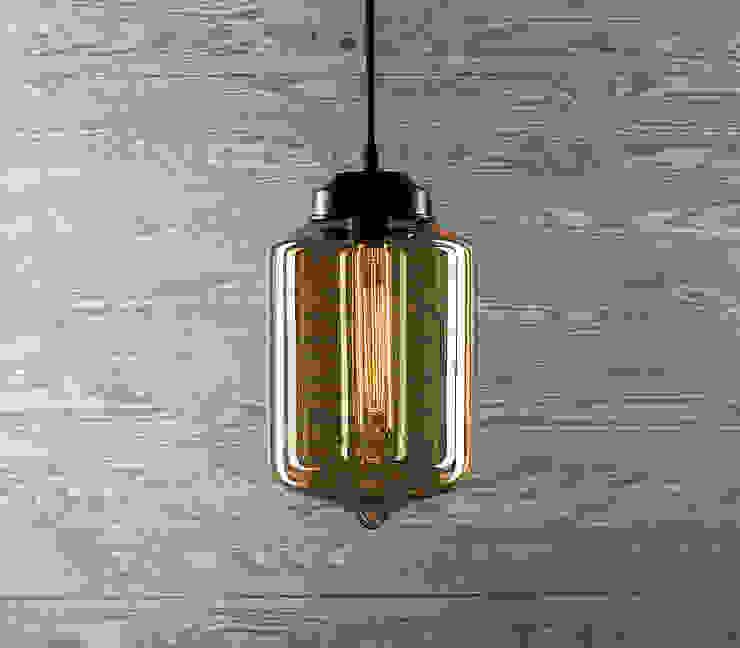 LONDON LOFT NO. 2 B-LAMPA WISZĄCA od Altavola Design Sp. z o.o. Nowoczesny Szkło