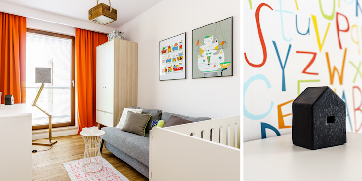 Industrial style nursery/kids room by Anna Maria Sokołowska Architektura Wnętrz Industrial
