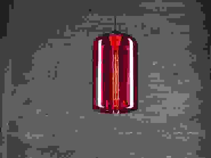 LONDON LOFT NO. 4R – LAMPA WISZĄCA od Altavola Design Sp. z o.o. Nowoczesny Szkło