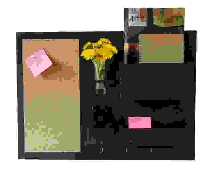 Organizer - 63x45 cm, drewniany, wenge od Silva Design Nowoczesny Sklejka