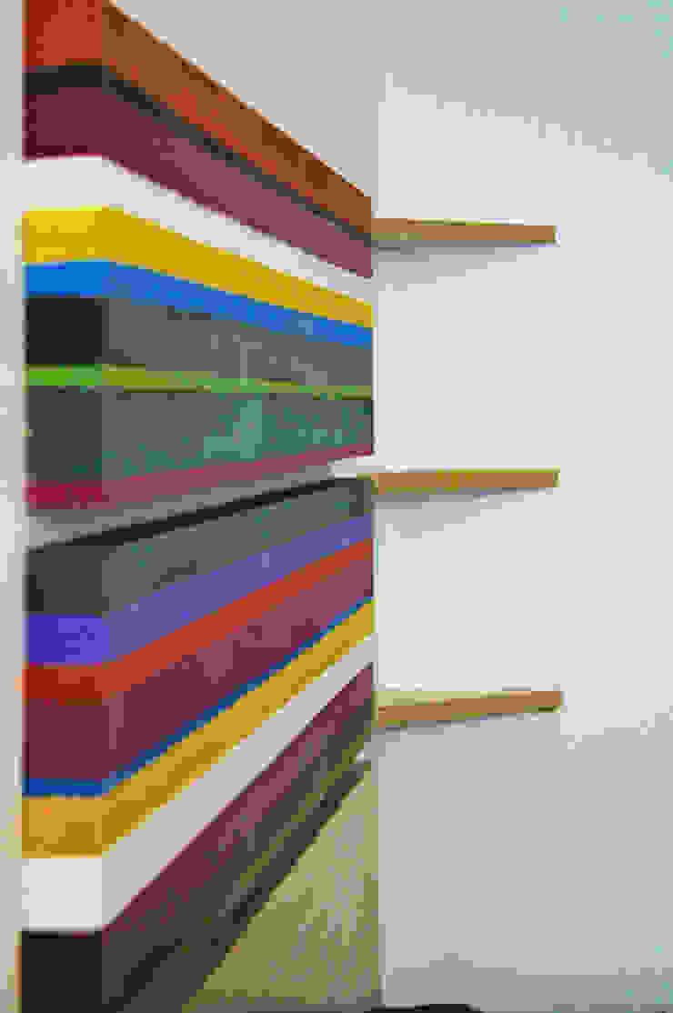 Cabeceras con colorido Mexicano de LM decoración Rústico Madera Acabado en madera