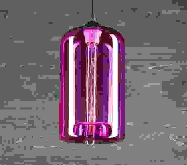 LONDON LOFT NO. 4P – LAMPA WISZĄCA od Altavola Design Sp. z o.o. Nowoczesny Szkło