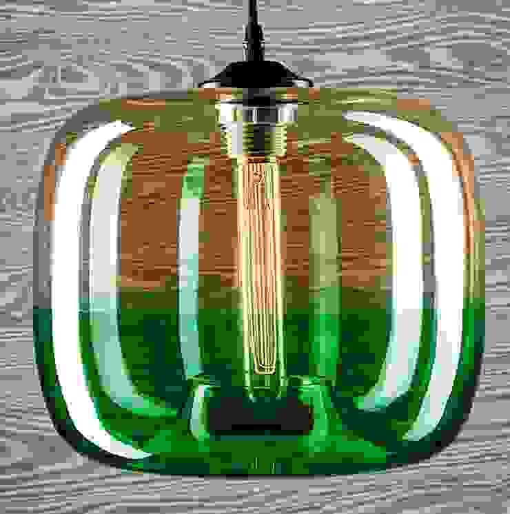 LONDON LOFT NO. 5 AG – LAMPA WISZĄCA od Altavola Design Sp. z o.o. Nowoczesny Szkło