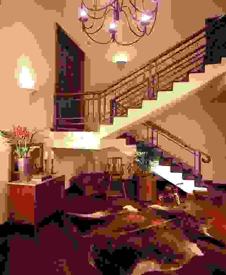 Hall Social Corredores, halls e escadas rústicos por IDALIA DAUDT Arquitetura e Design de Interiores Rústico